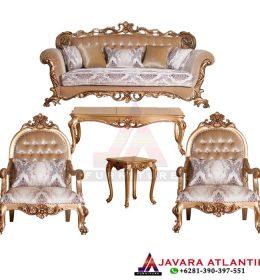 Kursi Tamu Ukir Turkish Luxury Gold JA 0162