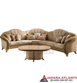 Set Sofa Sudut Mewah Melodia Luxury Style